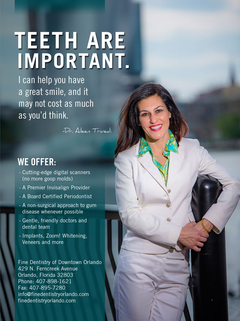 Downtown Orlando Dentist Magazine
