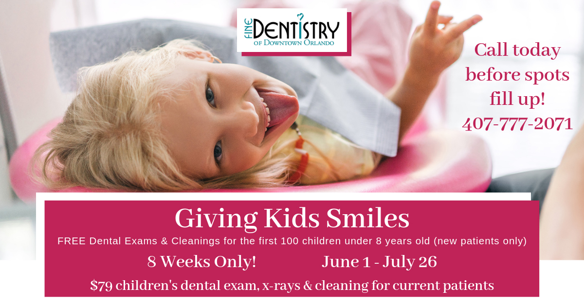 Give Kids Smiles - Fine Dentistry of Orlando