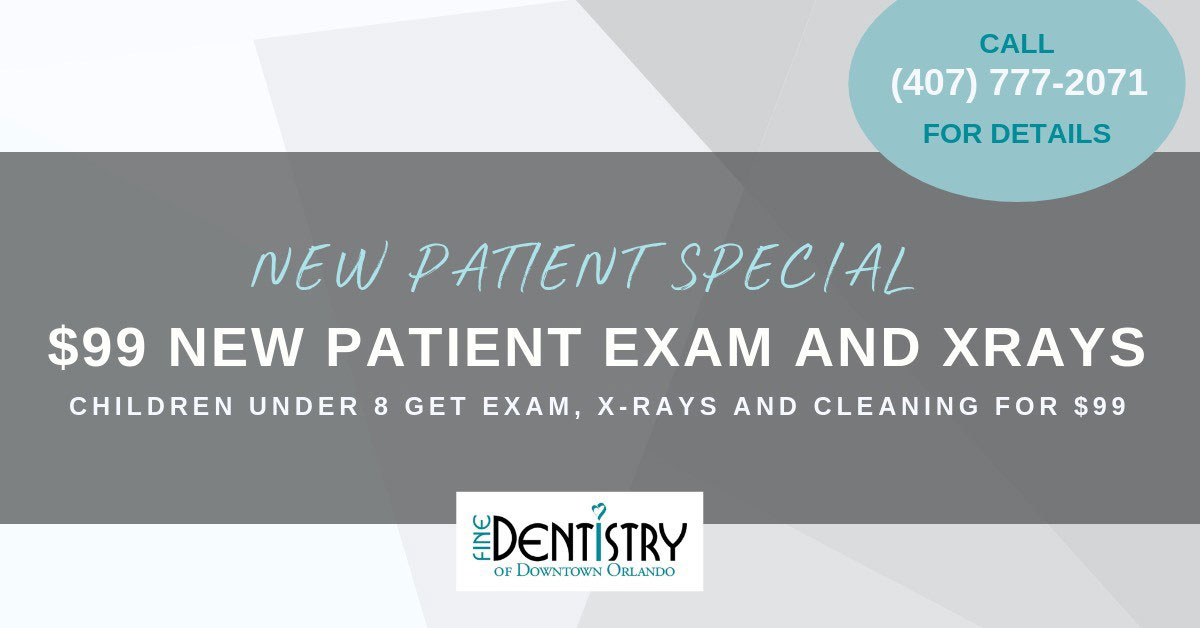 New Patient Special - Fine Dentistry of Orlando